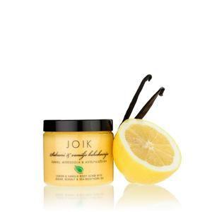 Tělový peeling s citronem a vanilkou Joik