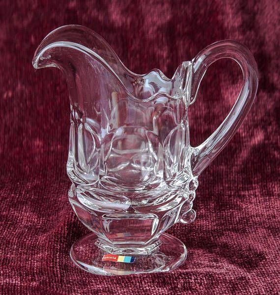 Creamer Crystal Fostoria Glass Fostoria Argus Fostoria Creamer