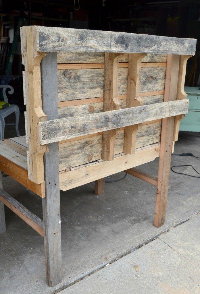 DIY Pallet Mud Kitchen Palletten, Küchen und Anleitungen - outdoor küche selber bauen