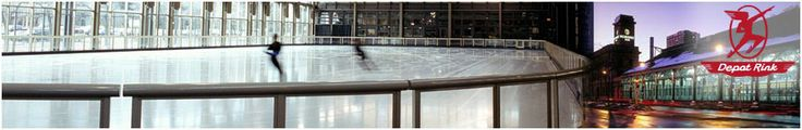 The Depot Rink is open Thanksgiving Day, November 28, 2013 through March 9th, 2013 #minneapolis