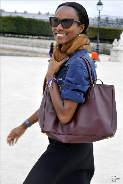 Shayla Monroque.  This girl has major style.