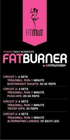 FitMiss Fat Burner Workout by malinda