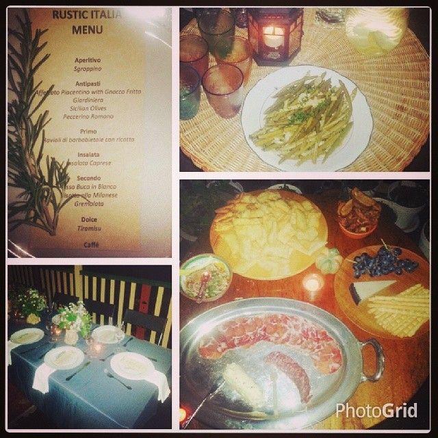 Bo Nita: Goldtoast Supper Club.. Rustic Italian. .. Yummmm. So glad I didn't eat lunch.