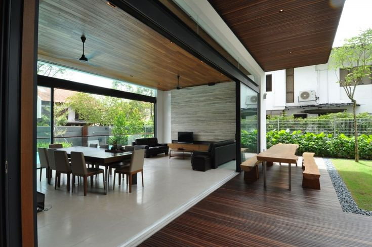 Sunset Terrace House by a_collective | HomeDSGN