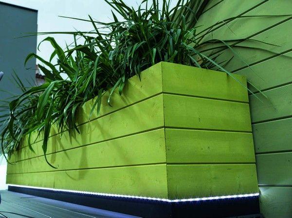 Diy Realiser Un Bac A Fleurs En Lames A Volet Leroy Merlin Garden Crafts Plants Plant Stand