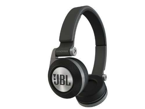 JBL Synchros E-30 On-Ear Headphone - BlackThe Synchros E30 delivers distinctive, bold sound: 30mm drivers with PureBass performance takes your music to the next level, with an expansive frequency response and bass you can feel. Its lightweight headband and head-conforming ergonomics blend styling with long-lasting comfort and expert fit.