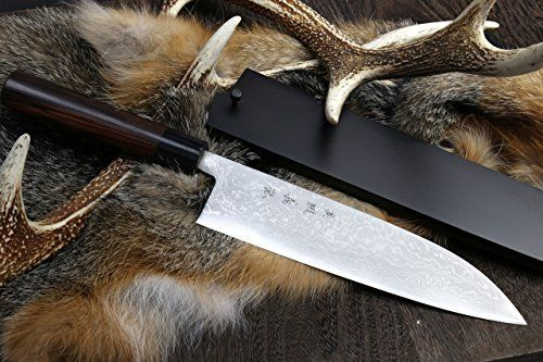 Our handmade Yoshihiro Blue Steel Suminagashi knives are crafted with extraordinary skill by our master artisans. Exemplifying the most intricate techniques of forging, layering, and hammering, Aoko Blue Steel #2 with a hardness on the Rockwell scale of 62, is forged with iron to create the most... see more details at https://bestselleroutlets.com/home-kitchen/kitchen-dining/cutlery-knife-accessories/asian-knives/product-review-for-yoshihiro-aokoblue-steel-suminagashi-damascu