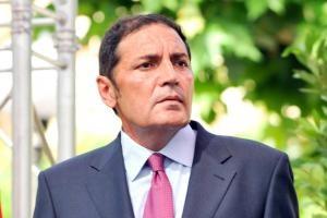 Antonio María Sáez Aguado, consejero de Sanidad, el día de su toma de posesión.