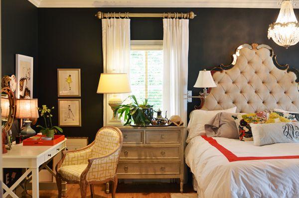 Desk In Bedroom For The Home Pinterest