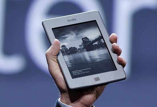 Kindle Touch, novo leitor de livros eletrônicos da Amazon