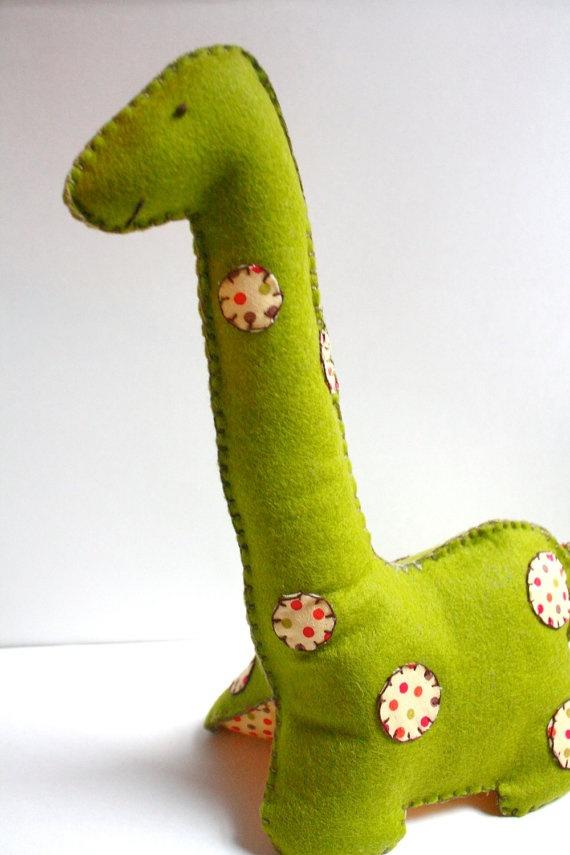 felt dinosaur- so cute!!!
