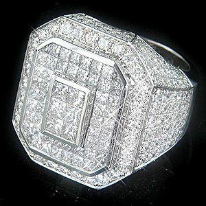 very high end diamond rings | ... high end diamond ring 9 3ct pin it this massive 14k gold men s diamond