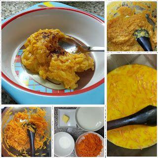 El diario de un mini gourmet: Gajar Ka Halwa ( postre de zanahoria y leche)