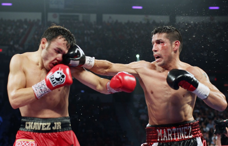 Chavez outclassed.
