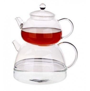 Tantitoni Bella Dg460ab-s Cam çaydanlık Takımı