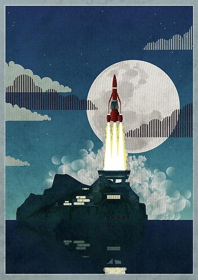 Tracy Island by Wyattdesign thunderbirds are go!