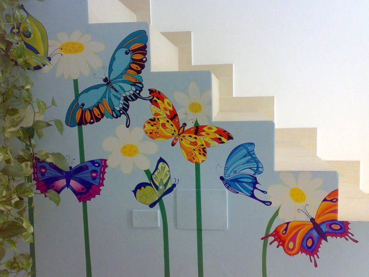Murales farfalle my Home Lucia ARTE & Folclore - 6791643 - Homelidays