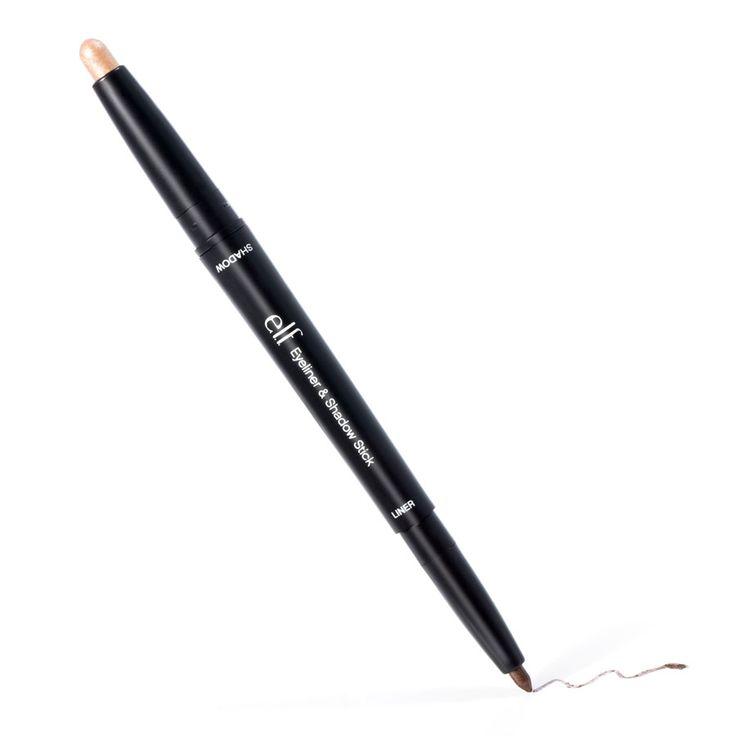 Eyeliner & Shadow Stick Brown / Basic  Duo Oogpotlood en Oogschaduw Potlood Een intense kleur voor je ogen in een handomdraai? Het kan! Een potloodscherper is zelfs overbodig. Breng de donkere zachte gel-eyeliner aan om de ogen dramatisch aan te zetten. De lichtreflecterende pigmenten helpen het oog subtiel maar intens te omlijnen voor een voller groter effect. Gebruik vervolgens de handige oogschaduwstick als aanvulling op de liner voor zachte kleuraccenten op het oog en een glanzende…