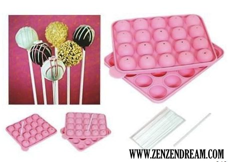 Silicone Cake Pops Mould (20 Delicious Cake Pops!) - KITCHENWARE - HOMELIVING