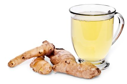 All-Natural Headache Cure:    Crush up an inch of ginger root and add it to boiling water. This homemade tea reduces inflammation in about the same amount of time as it would take an aspirin to work.