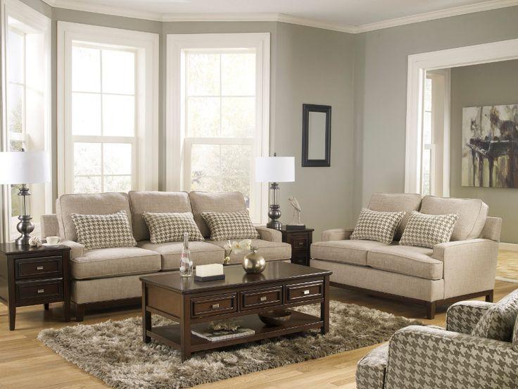 Donella Barley Sofa & Loveseat sofa loveseat livingroom