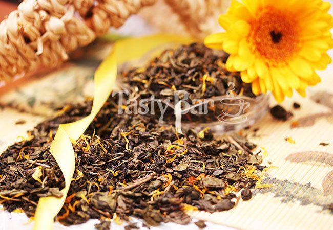 Дыня - чай зеленый