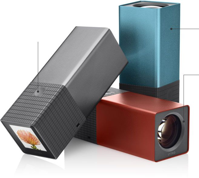 LYTRO Lightfield Camera, cool stuff hope its soon available in Europe...