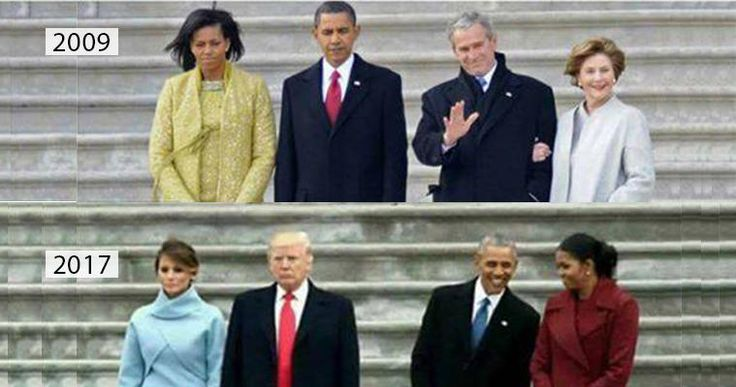 Picture Showing Fundamental Similarities B/W Outgoing-Incoming Presidents Of America What is the best proposal for a marriage you have ever heard? Bending on one knee with a rose in one and a diamond ring
