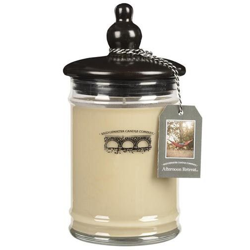 Just got mine Smells wonderful!! Bridgewater Candle 18 Oz. Jar - Afternoon Retreat