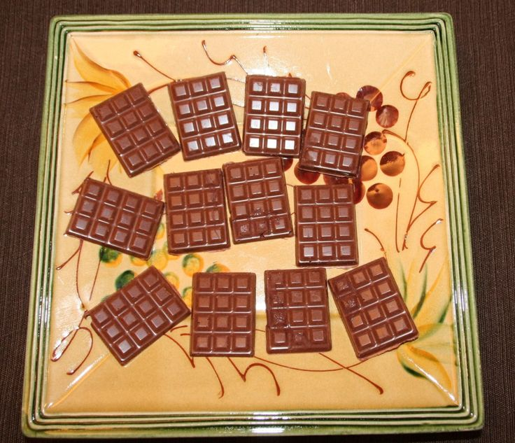 homemade chocolate bars- so I don't have to pay so much for the good stuff, and I can control the ingredients.