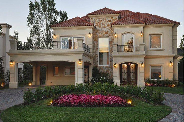 Enorme y muy bella fachadas pinterest - Fachadas clasicas ...