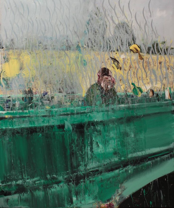 Adrian Ghenie - The Bridge | 2015 | oil on canvas | 240 x 200 cm