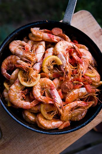 New Orleans Style Barbecue Head On Shrimp | Monahan's Seafood Market | Fresh Whole Fish, Fillets, Shellfish, Recipes, Catering & Lunch Counter