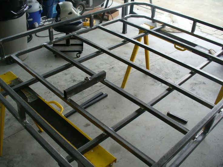 Build your own roof rack for 70 jeep forum for Build your own cupola