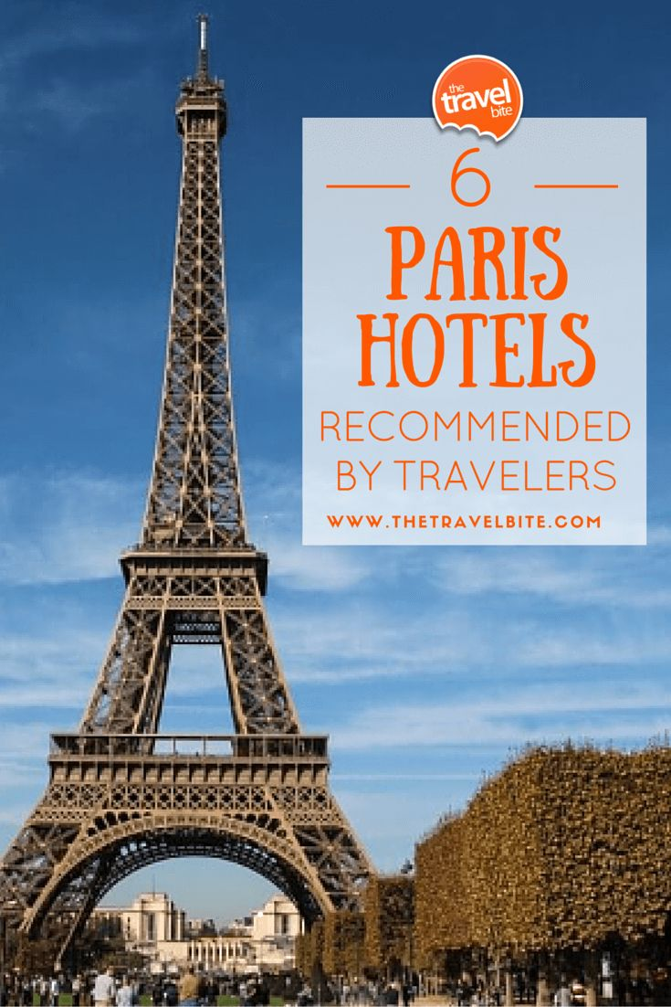 6 Paris Hotels Recommended By Travelers -- With over 2,000 Paris hotels, be sure to pick the perfect one with these tried and tested recommendations from trusted travelers.