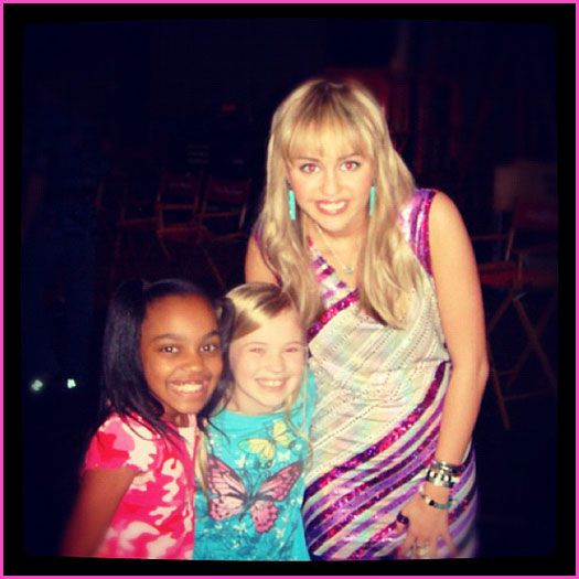 China Anne McClain Congratulates Miley Cyrus On Her Engagement