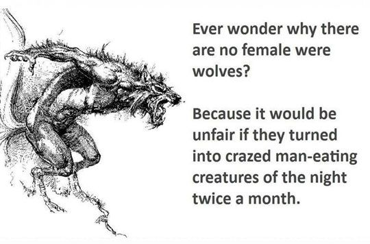 What Happened To The Female Werewolves
