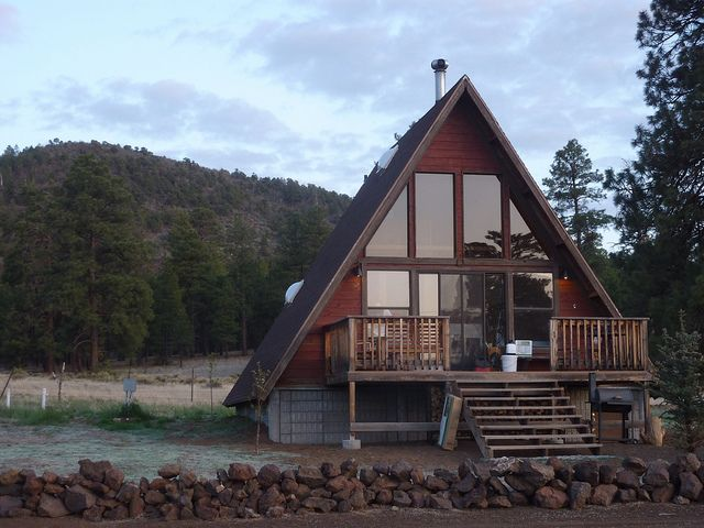 61 Best A Frame Houses Images On Pinterest Tiny Cabins