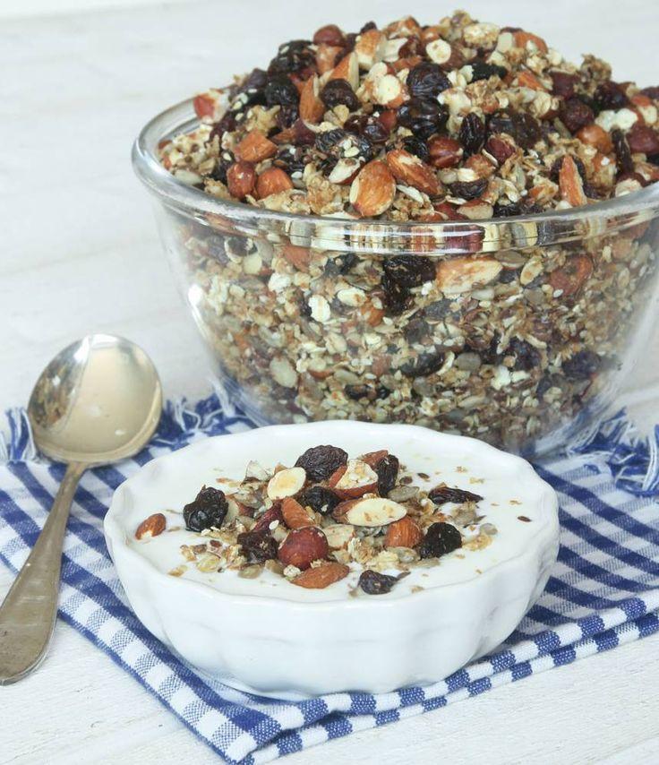 Rostad granola – Lindas Bakskola