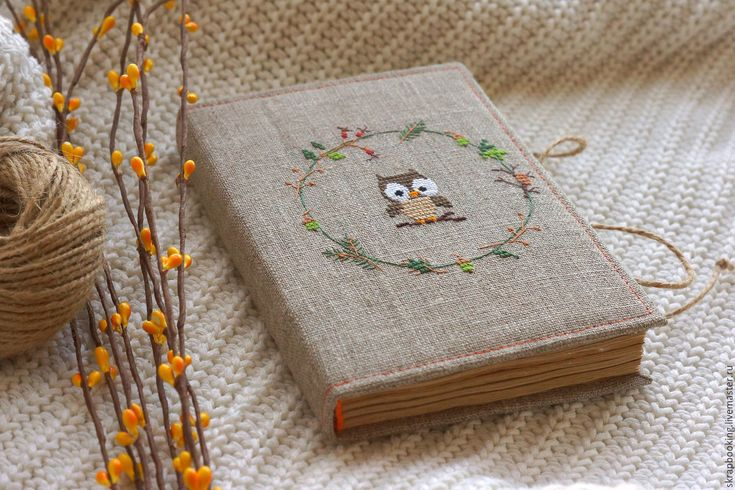 "Купить Блокнотик ""Сова"" - бежевый, блокнотик, лисичка, ежик, сова, блокнотик сова, блокнот на заказ"