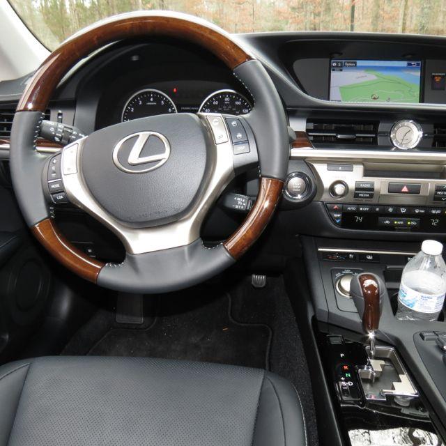 #Lexus ES 350...im glad I have tan leather...looks better then gray...rite karma...