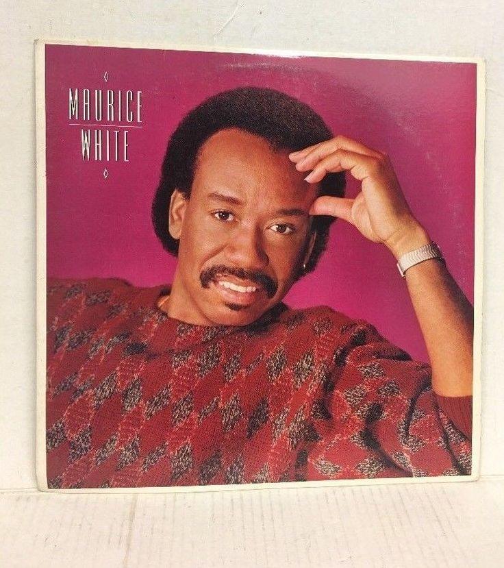 MAURICE WHITE SAME CBS/SONY Columbia Records LP