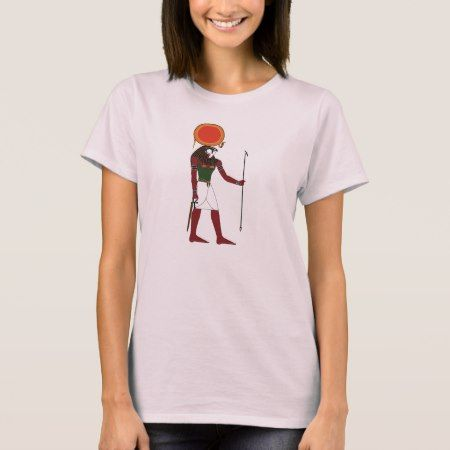 Ra the Ancient Egyptian God of the Sun and Kings T-Shirt - click/tap to personalize and buy
