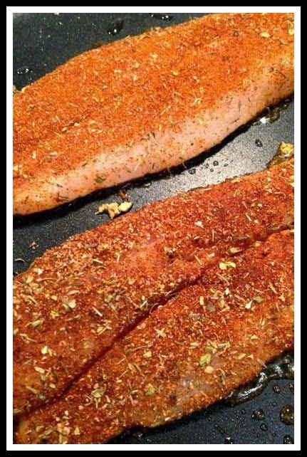 The Baking Bookworm: Spicy Basa Fillets