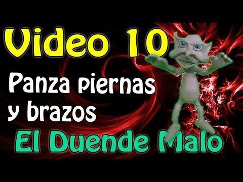 """""""Duende Malo"""" Como hacer piernas,brazos y panza Video #10 - YouTube"""