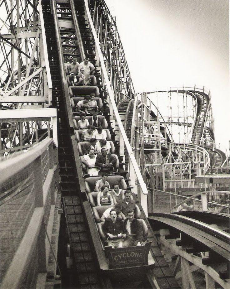 vintage rollercoaster