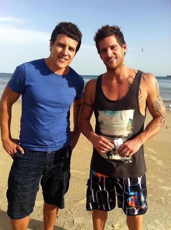 Steve peacocke brax home and away is absolutely gorgeous so are the others too