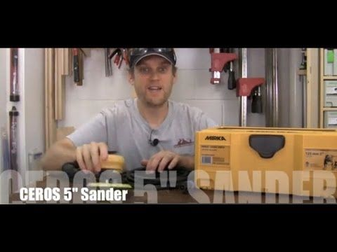 Learn the details of this revolutionary random orbit sander as Morton walks you through its setup and uses. http://www.highlandwoodworking.com/mirka-ceros-co...