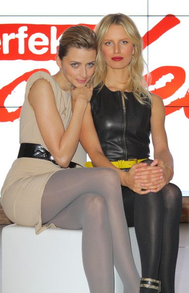 Karolina Kurkova Photos - Model Eva Padberg and Karolina Kurkova (R) attend a photocall in advance of the upcoming Vox-TV casting show 'Das perfekte Model' ('The Perfect Model') on January 17, 2012 in Berlin, Germany. - Eva Padberg And Karolina Kurkova Photocall