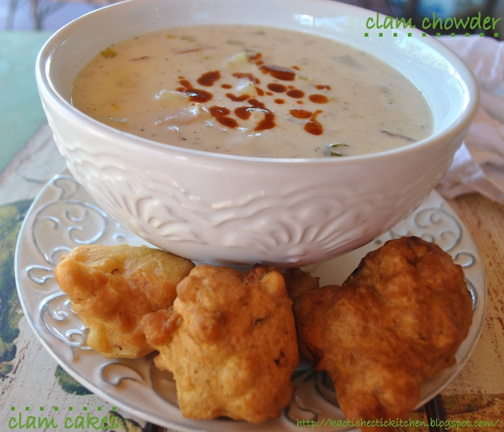Rocky Point Clam Cakes And Chowder Recipe
